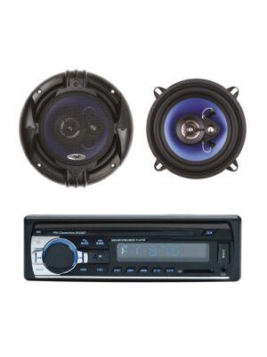 Pack Radio Lecteur MP3 pour voiture PNI Clementine 8428BT 4x45w + Haut-parleurs coaxiaux pour voiture PNI HiFi650