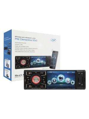 Lecteur MP5 Clementine 9545 1DIN écran 4 pouces, 50Wx4, Bluetooth, radio FM, SD et USB, 2 RCA vidéo IN / OUT