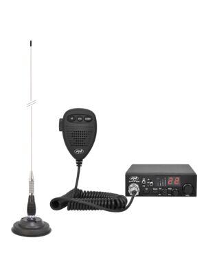 Kit CB radio CBI ESCORT HP 8000L ASQ + Antenne CB PNI ML100