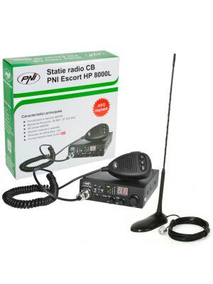 Kit CB CBI ESCORT CB 8000L ASQ + PN PNI Extra 45 avec aimant