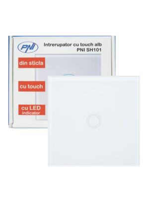 PNI SH101 blanc interrupteur tactile simple