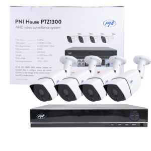 Kit de vidéosurveillance AHD PNI House PTZ1300
